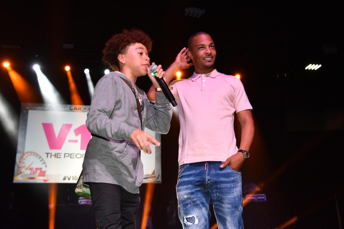 Tiny Harris Strongly Promotes Her And T.I.'s Son King Harris' Music And Asks Fans To Do The Same