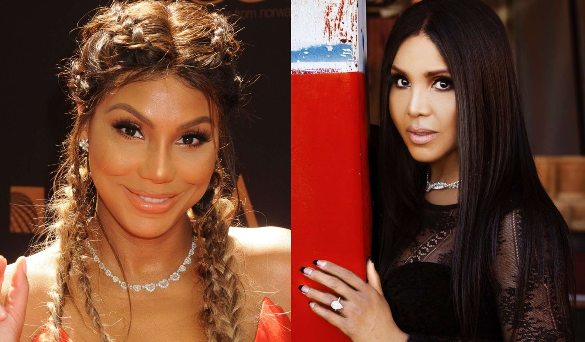 """""""tamar-braxton-posts-a-photo-with-her-sister-toni-braxton-sleeping-and-fans-including-porsha-williams-are-here-for-it"""""""