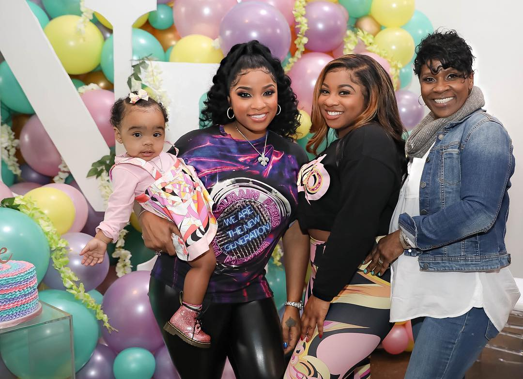 """toya-wrights-baby-girl-reign-rushing-is-slaying-the-fashion-game-again-in-the-latest-pics-with-her-mom-and-sister-reginae-carter-fans-adore-her-baby-swag"""