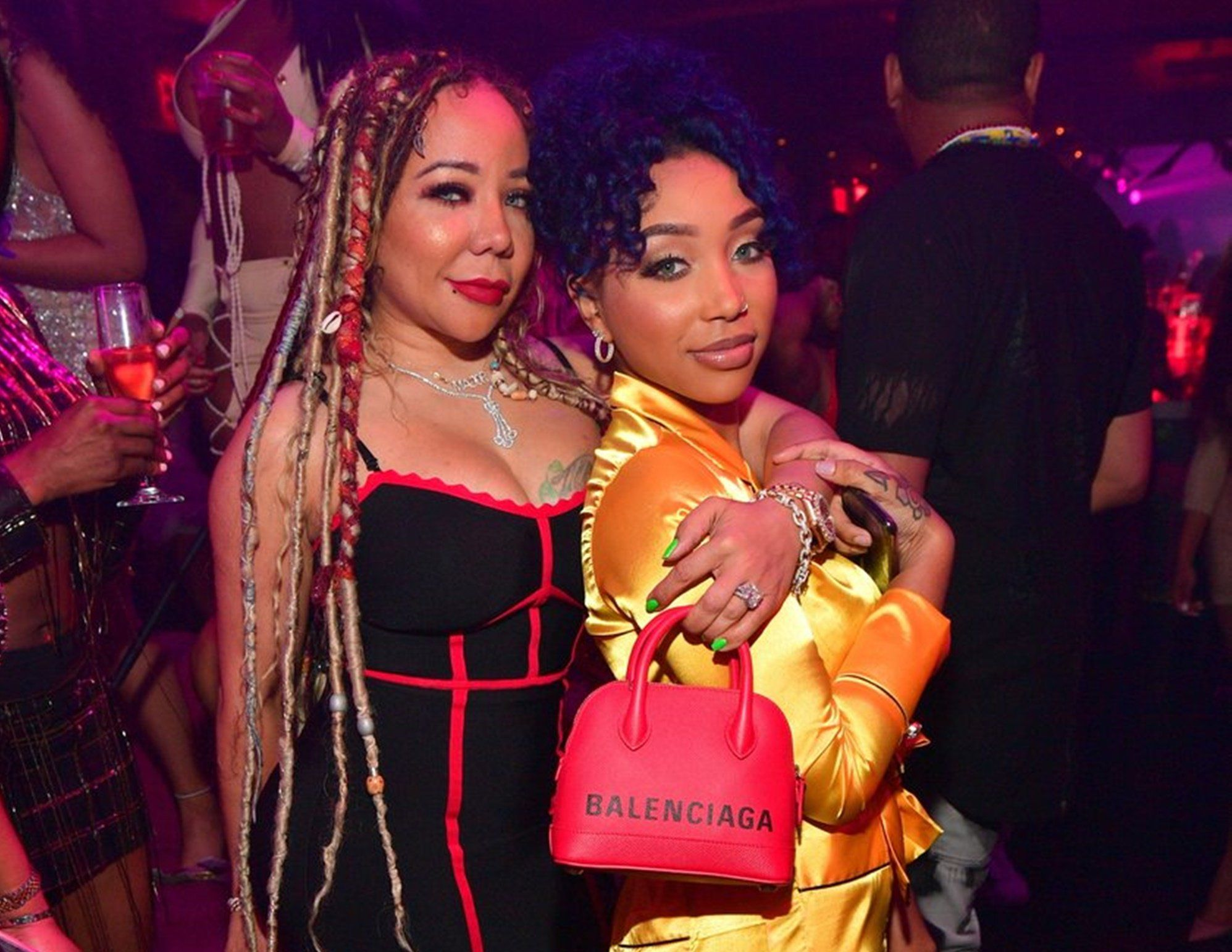 Tiny Harris Gushes Over Her Birthday Girl, Zonnique Pullins With A Video In Which Her Daughter Is Slaying While Dancing Like A Pro - Watch The Video