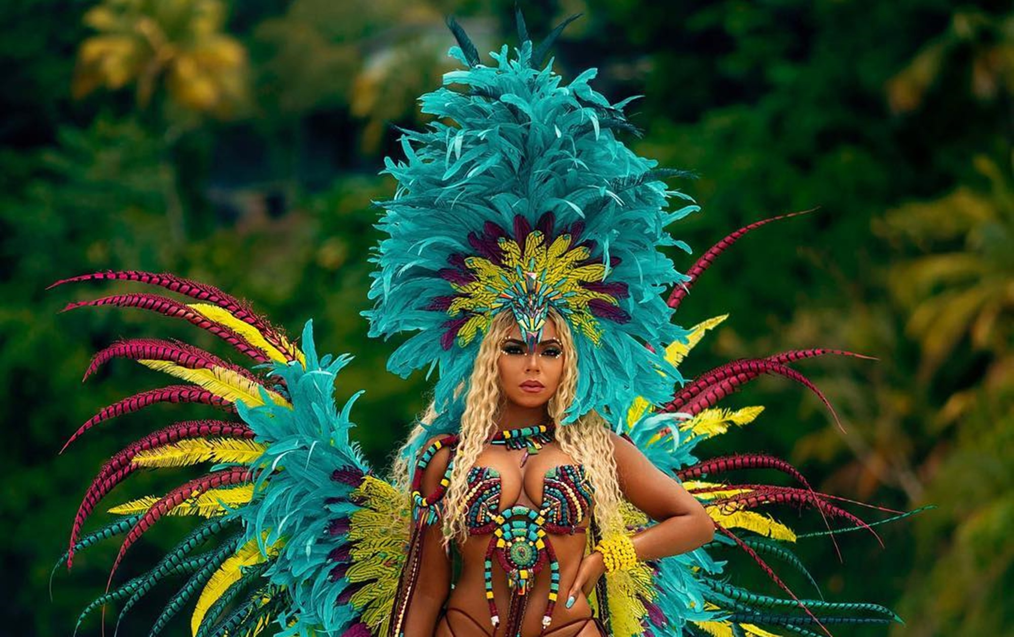 Ashanti Douglas Trinidad Carnival Costume