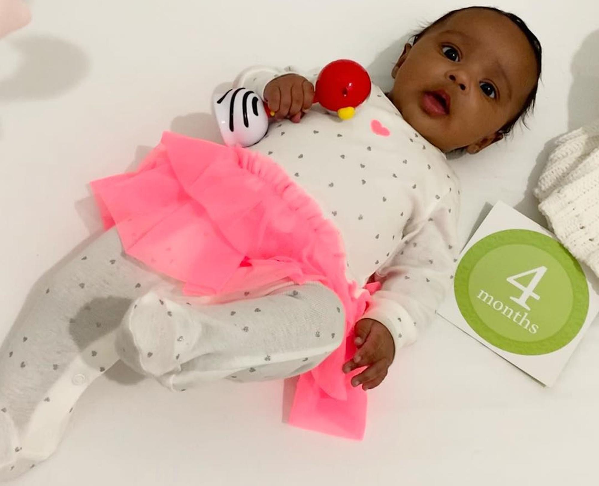 Baby Brooklyn Daly Kenya Moore