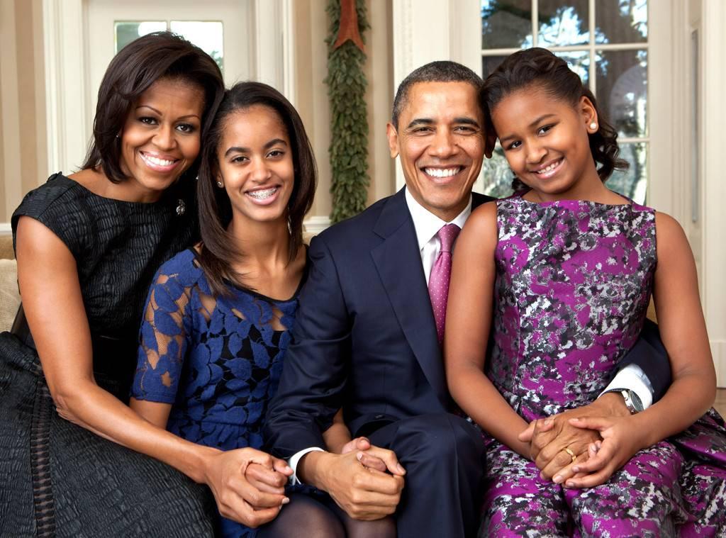 Barack-Obama-Sasha-Obama-Malia-Obama