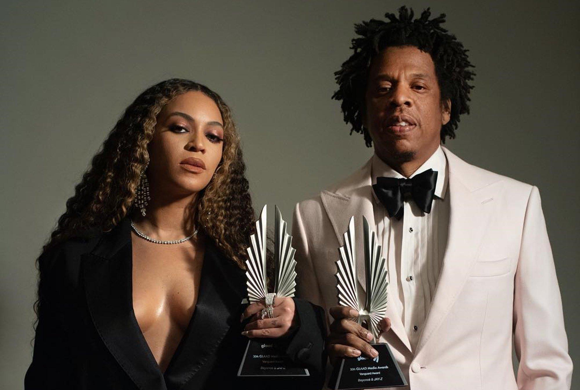 Beyoncé Jay-Z Vanguard Award GLAAD Media Awards