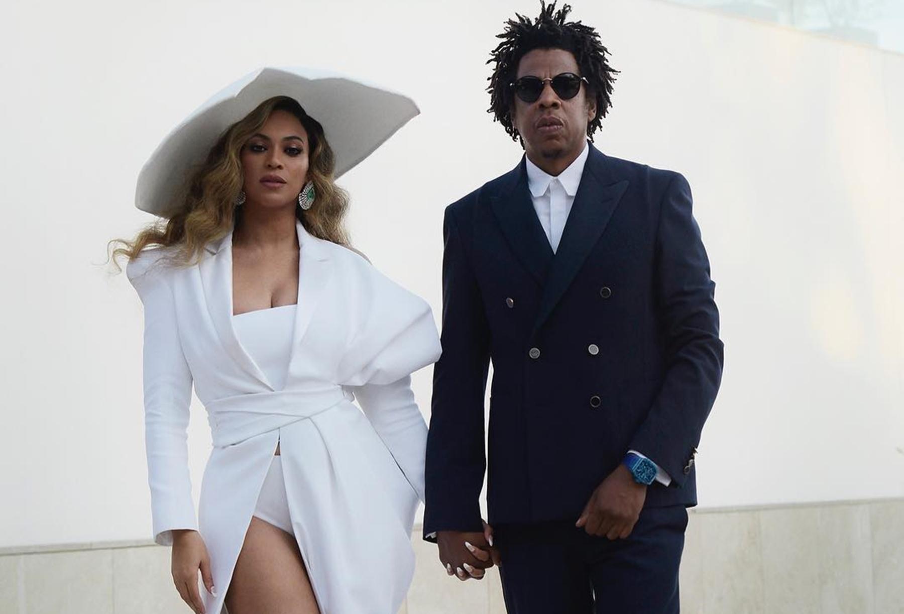 Beyonce Knowles Jay-Z Omari Hardwick