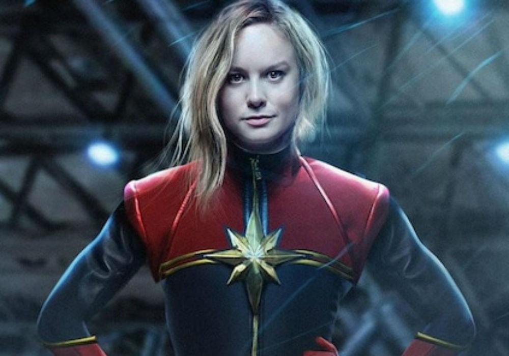 Captain Marvel 'Changed My Life&#039 Claims Star Brie Larson