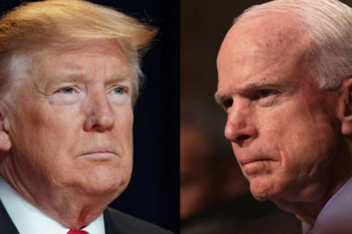 President Donald Trump Bashes John McCain While His Approval Rating Is At An All Time High, Will It Cost Him?