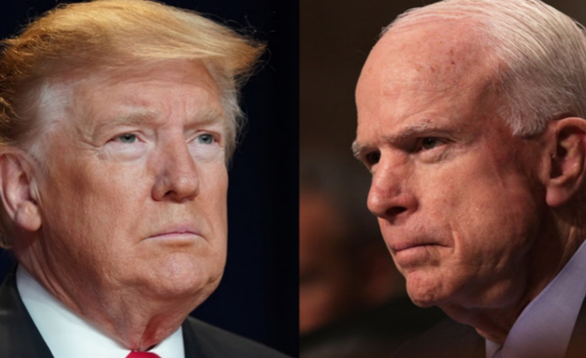 """""""president-donald-trump-bashes-john-mccain-while-his-approval-rating-is-at-an-all-time-high-will-it-cost-him"""""""