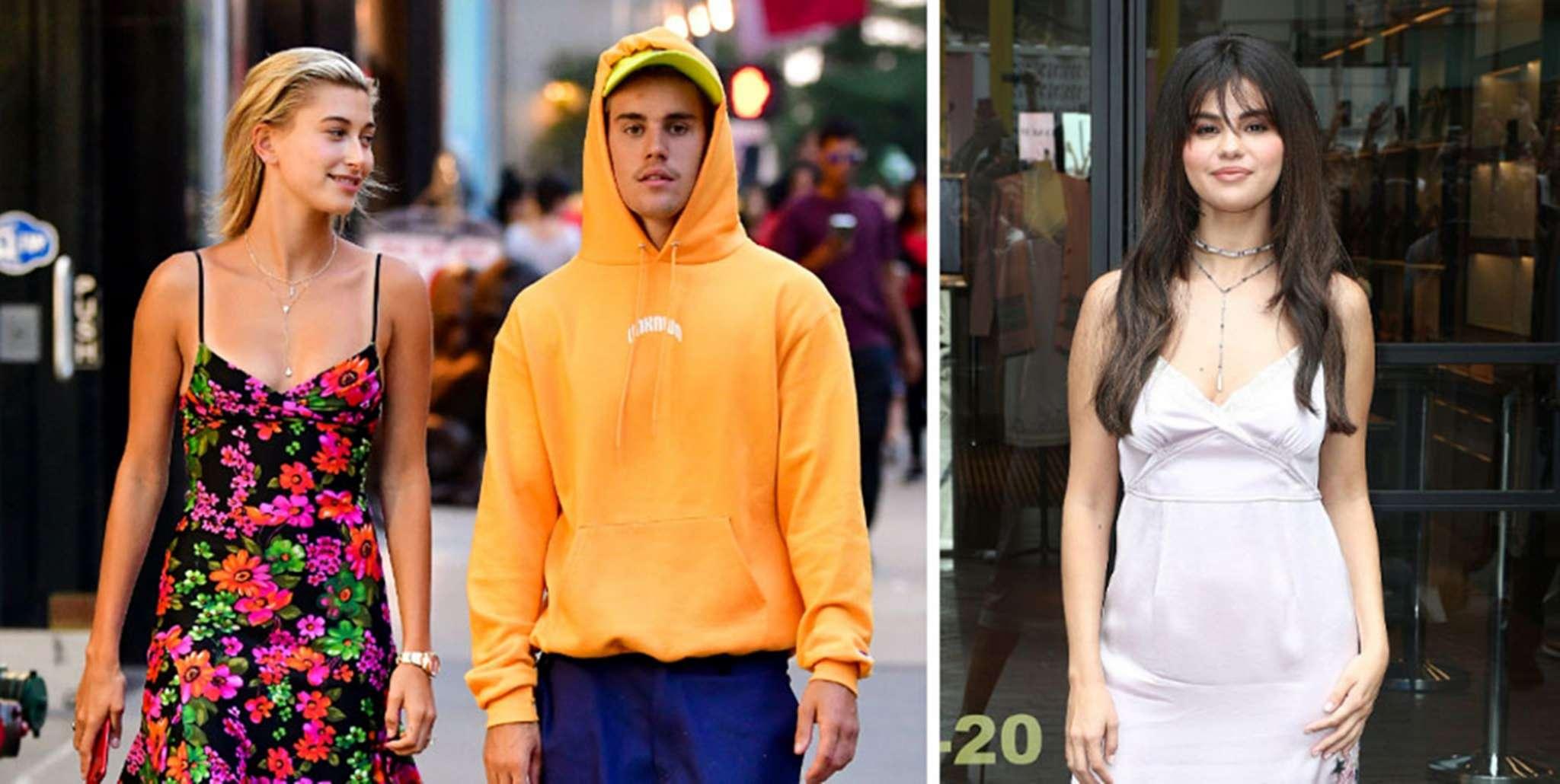 Hailey Bieber Justin Bieber Selena Gomez