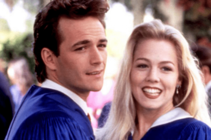 'Beverly Hills 90210's' Jennie Garth Responds To News Of Luke Perry's Death 'My Heart Is Broken'