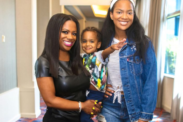 Kandi Burruss Gushes Over Her Two Kids With The Cutest Throwback Photo
