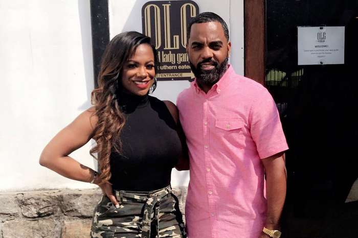 Kandi Burruss Shares A Video From Her Rehearsal And Todd Tucker Is In It As Well