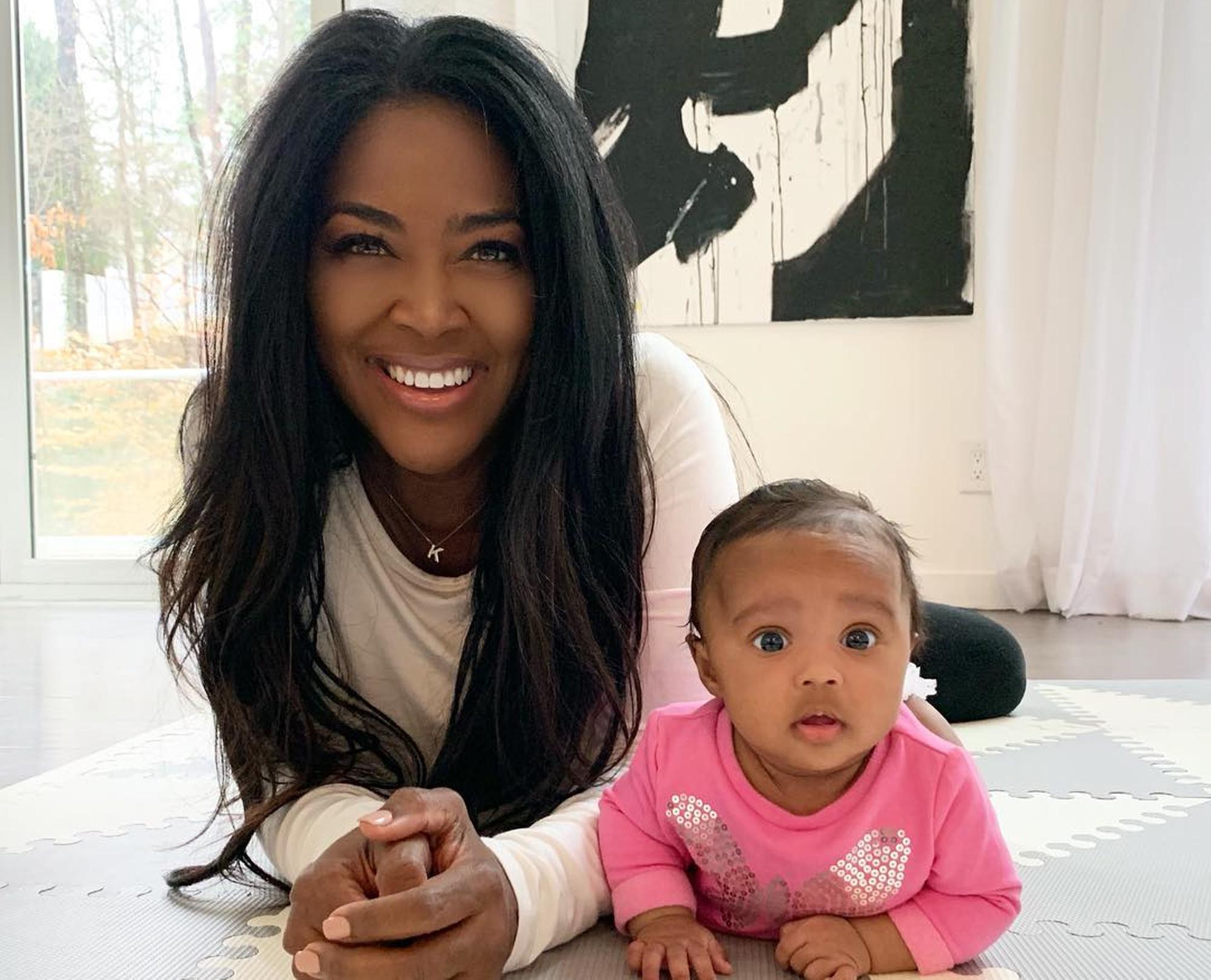 Kenya Moore Baby Brooklyn Daly