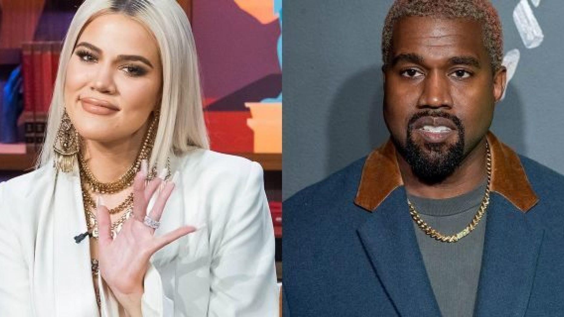 Khloe and Kanye