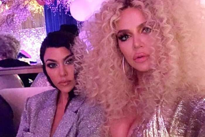 Khloe Kardashian Debuts Massive Hair And Leaves Little Imagination As She Parties With Beyonce And Diana Ross