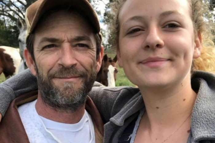 Jack Perry Sophie Perry: Luke Perry's Secret Fiancée Revealed As His Co-Stars React