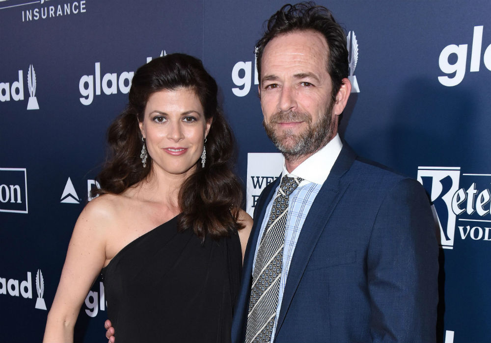 Luke Perry's Secret Fiance Revealed As His Co-Stars React To His Heartbreaking Death