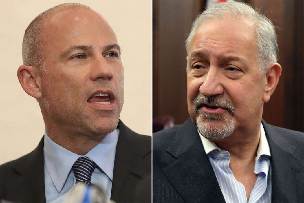 Mark Geragos and Michael Avenatti