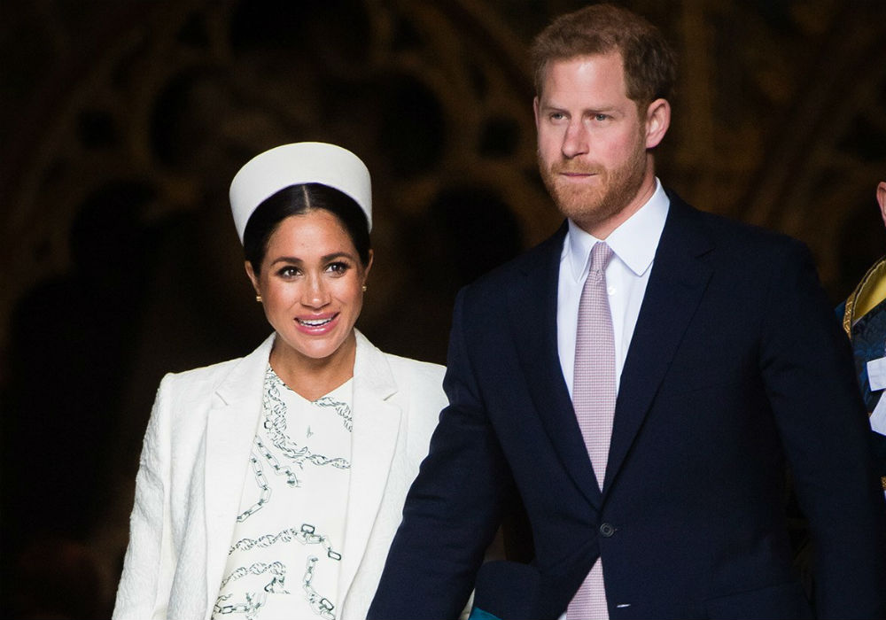 Meghan Markle goes on maternity leave
