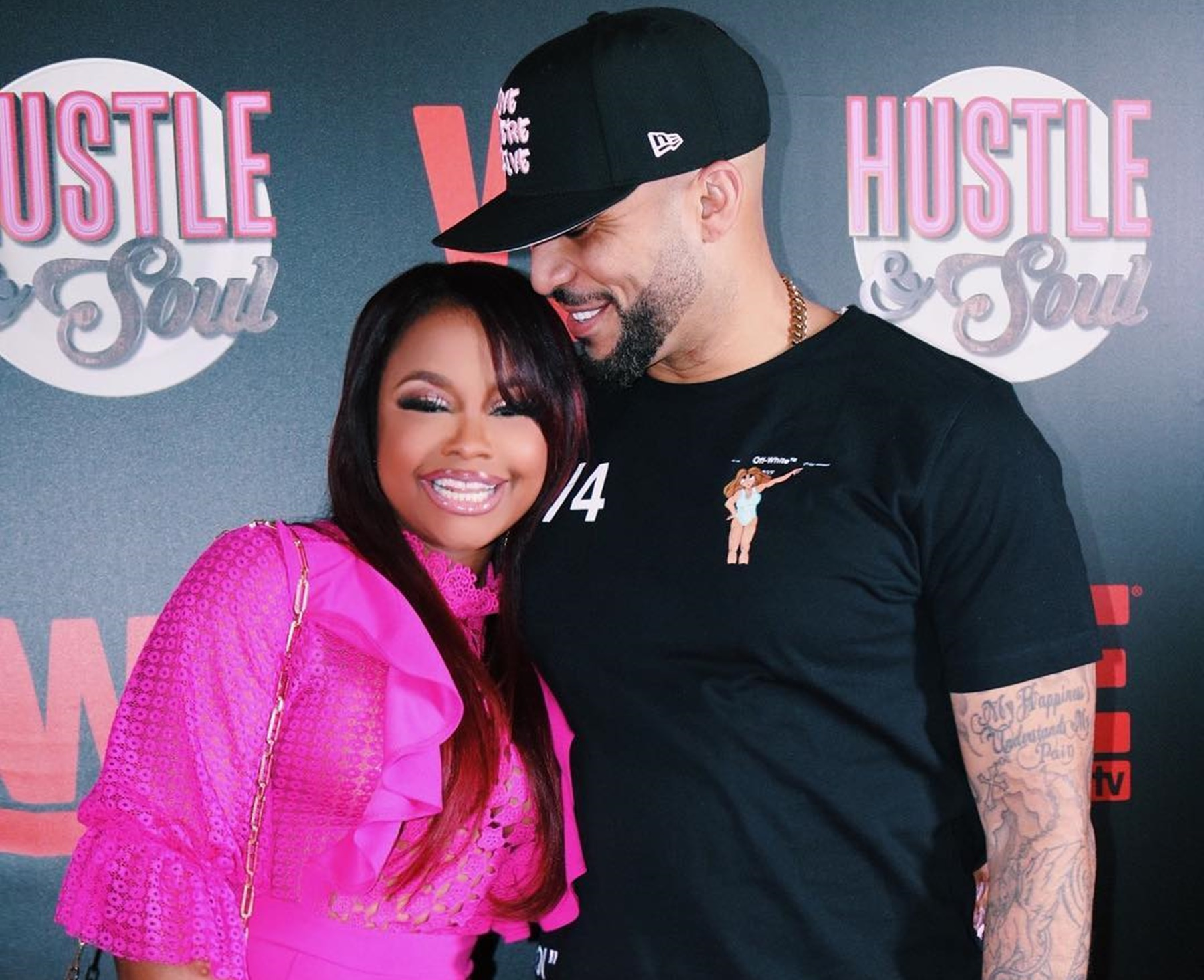 """phaedra-parks-gets-in-a-controversy-about-light-skinned-men-like-tone-kapone-after-posting-romantic-pictures-tiny-harris-defends-former-rhoa-star"""