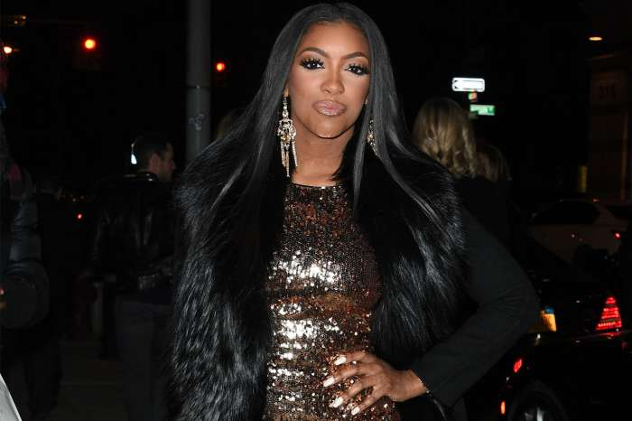 Porsha Williams Slays A Pink Skintight Dress In New Maternity Shoot For Her Clothing Line
