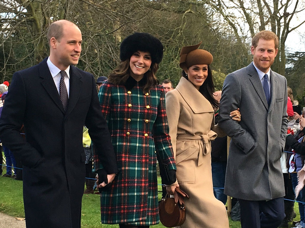 Britain's Kate and William celebrate St Patrick's Day