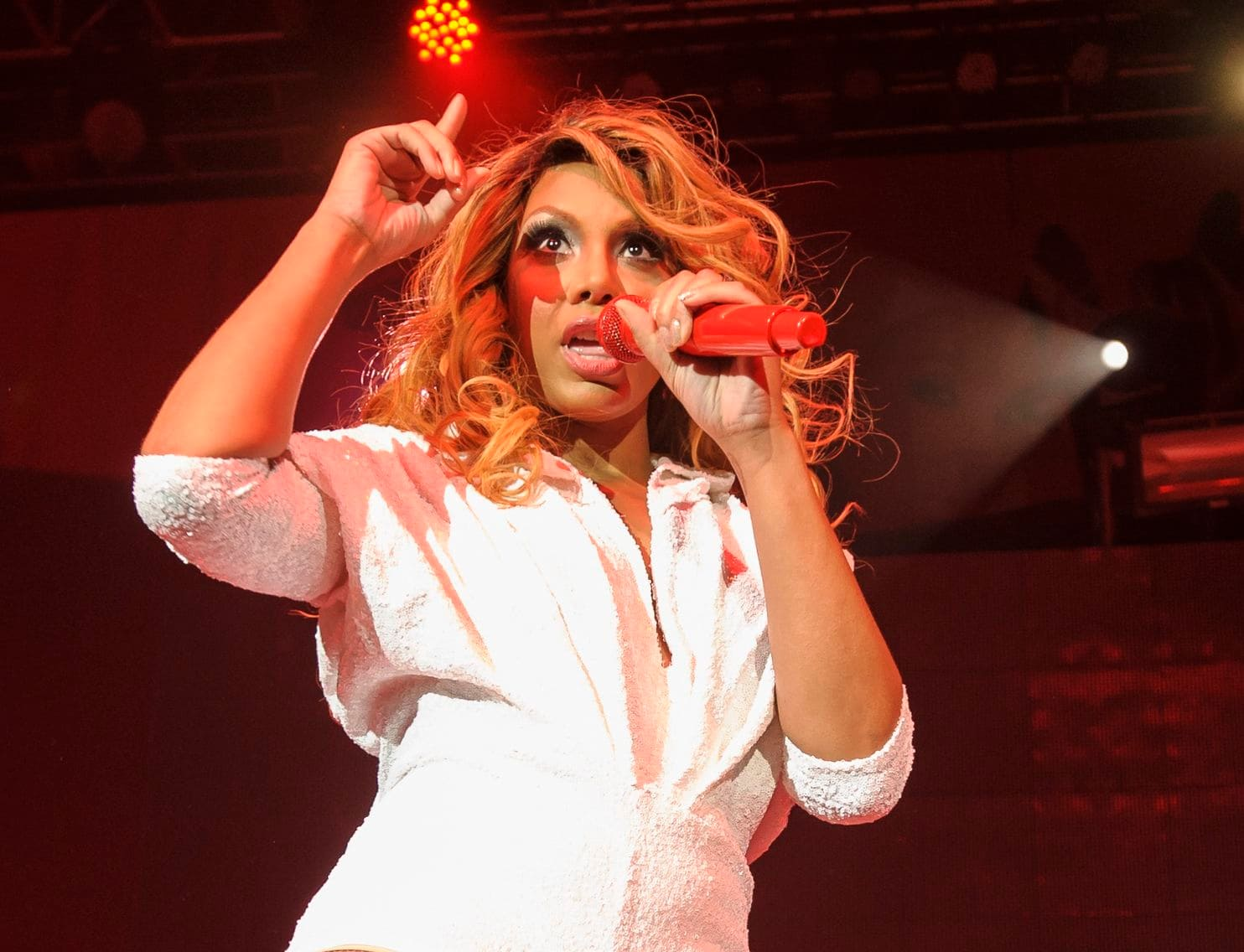 Tamar Braxton Praises Single Moms And Shares The Cutest Photo With Her Son, Logan