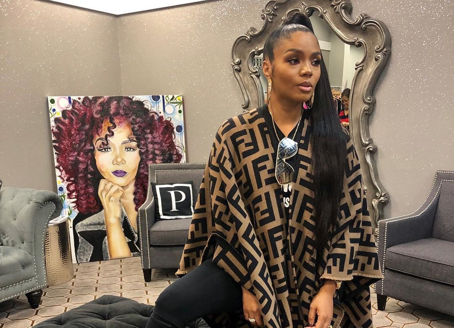 Rasheeda Frost Works Out Like There's No Tomorrow - Check Out Her Video - Fans Tell Her She Doesn't Need To Lose Any More Weight