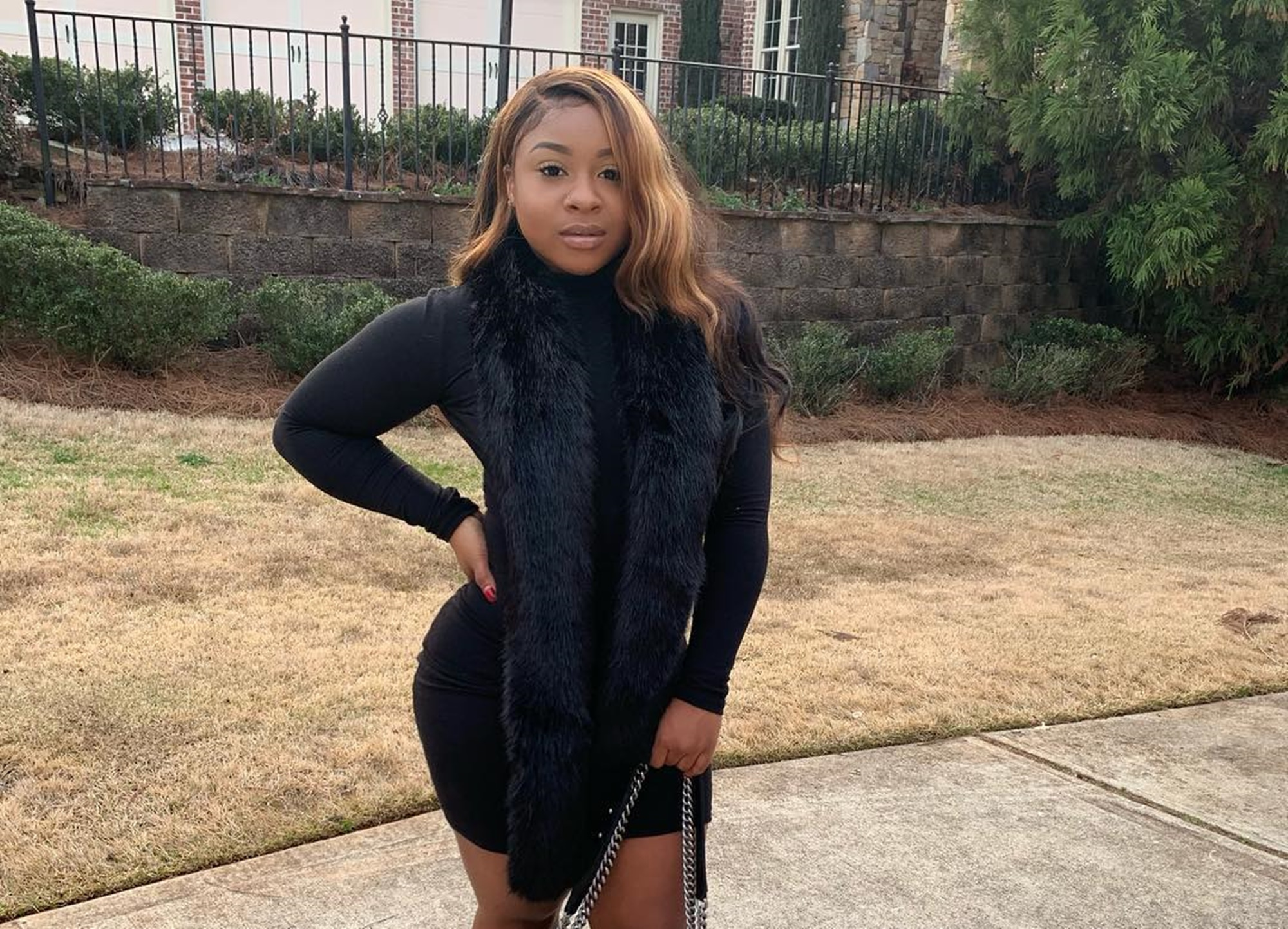 """""""lil-wayne-and-toya-wrights-daughter-reginae-carter-looks-great-in-little-black-dress-picture-as-critics-say-her-skin-looks-lighter"""""""
