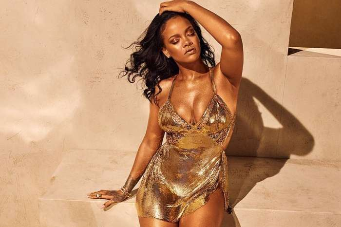 Chris Brown Is Going Crazy Over Rihanna's Latest Photo Where She Is Dripping Gold -- Should Hassan Jameel Be Worried?