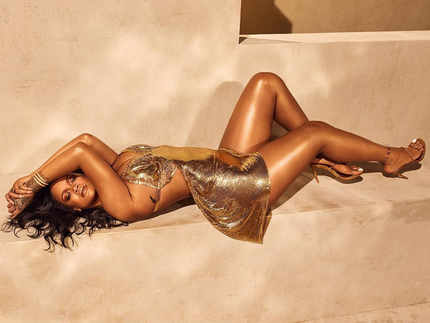 Rihanna Hassan Jameel Chris Brown