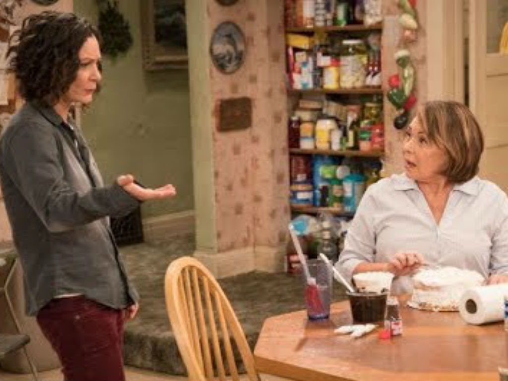 Roseanne Barr accuses co-star Sara Gilbert of 'destroying her life'