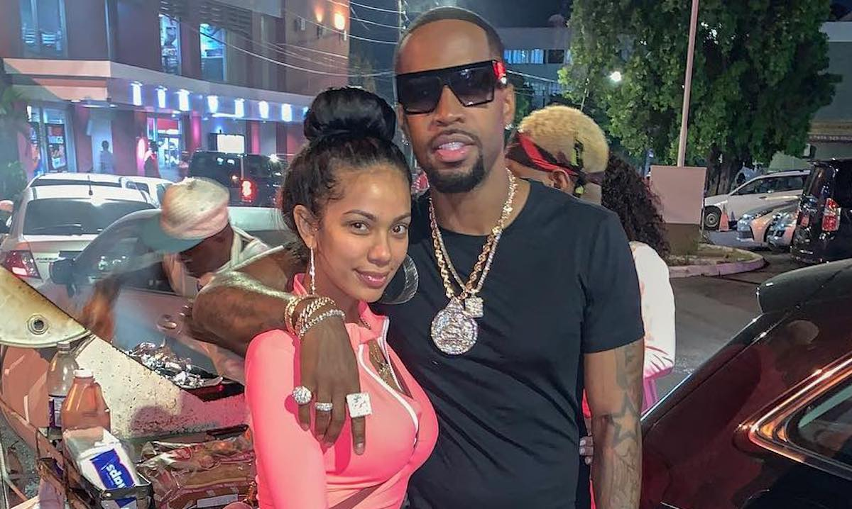 Erica Mena Tell Safaree Samuels: 'Let's Get Married Right Now' - See Their Lovey-Dovey Pics