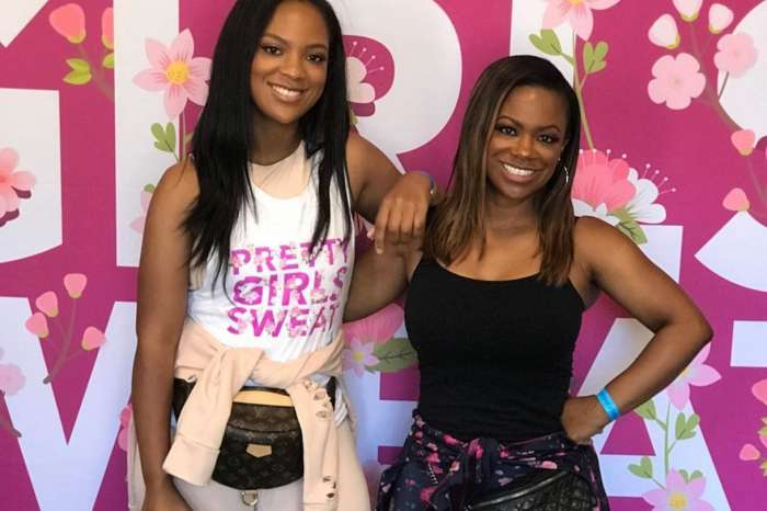 Kandi Burruss Hangs Out With Her Family To Celebrate Legend Aretha Franklin - People Are Praising Her 'Twin' Riley Burruss