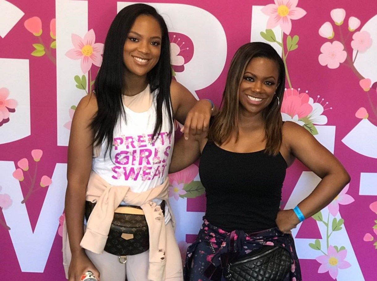A Legend To Commemorate: Kandi Burruss Hangs Out With Her Family To Celebrate