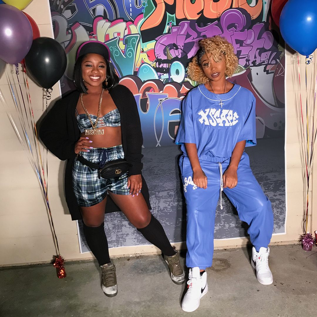 Reginae Carter Celebrates BFF Zonnique Pullins' Birthday With Gorgeous Photos And Videos