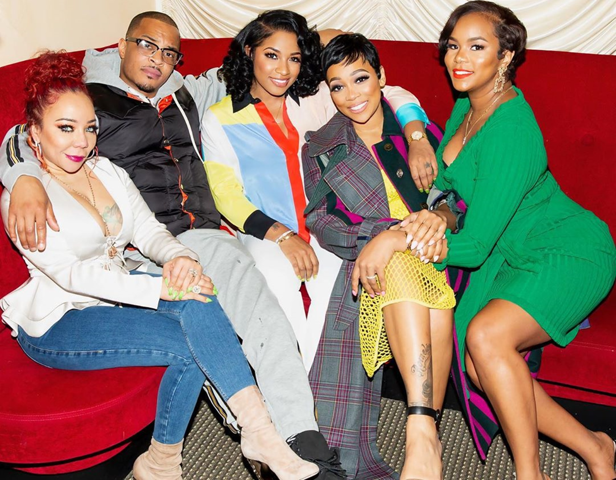 Tiny Harris T.I. Toya Wright Monica Brown LeToya Luckett