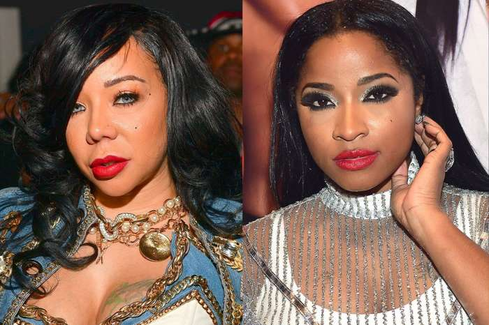 Tiny Harris Supports Toya Wright In Her Latest Initiative - Check Out Tiny's Video