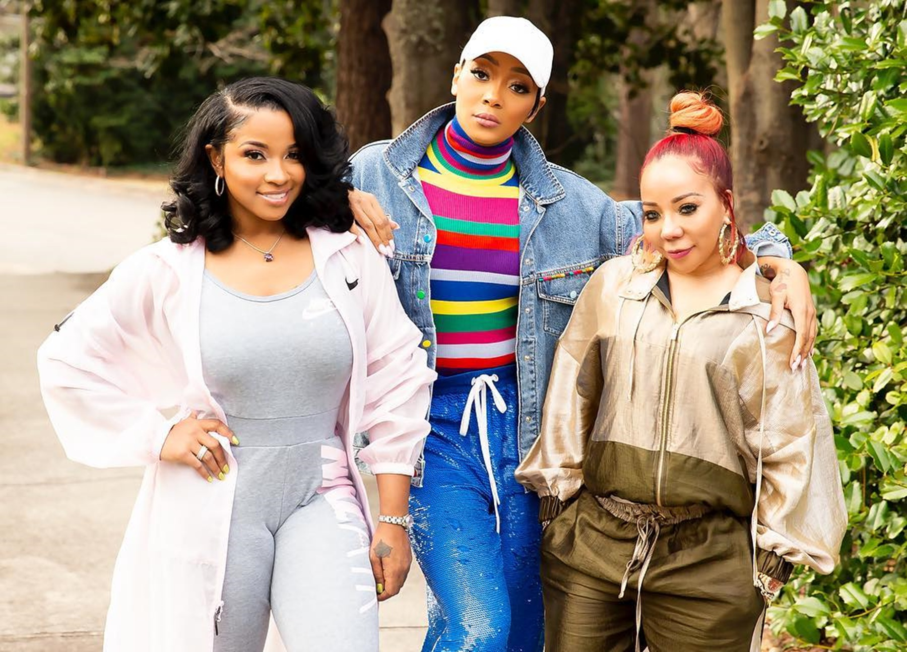 Toya Carter Monica Brown Tiny Harris Mothers