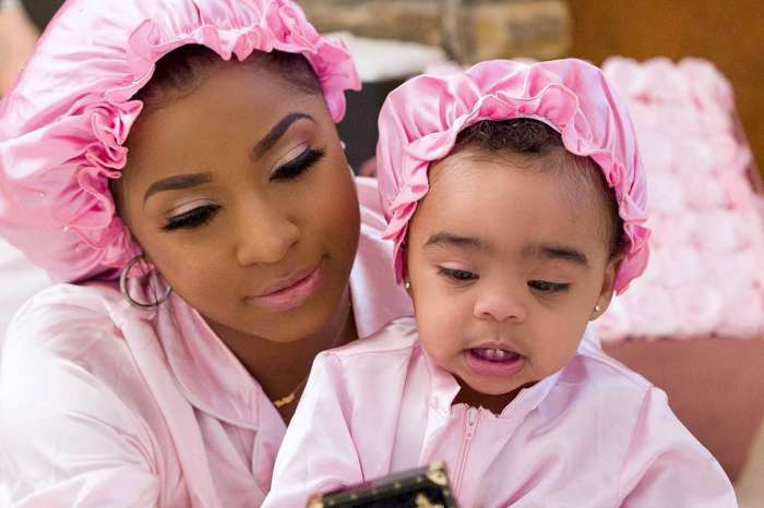 Toya Wright's Latest Photo With Reign Rushing Brightens Fans' Day