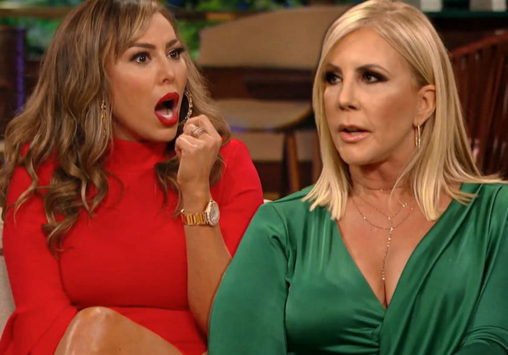 Vicki Gunvalson Is A 'Nightmare' Shooting RHOC After Bravo Threatened To Demote Her For Season 14