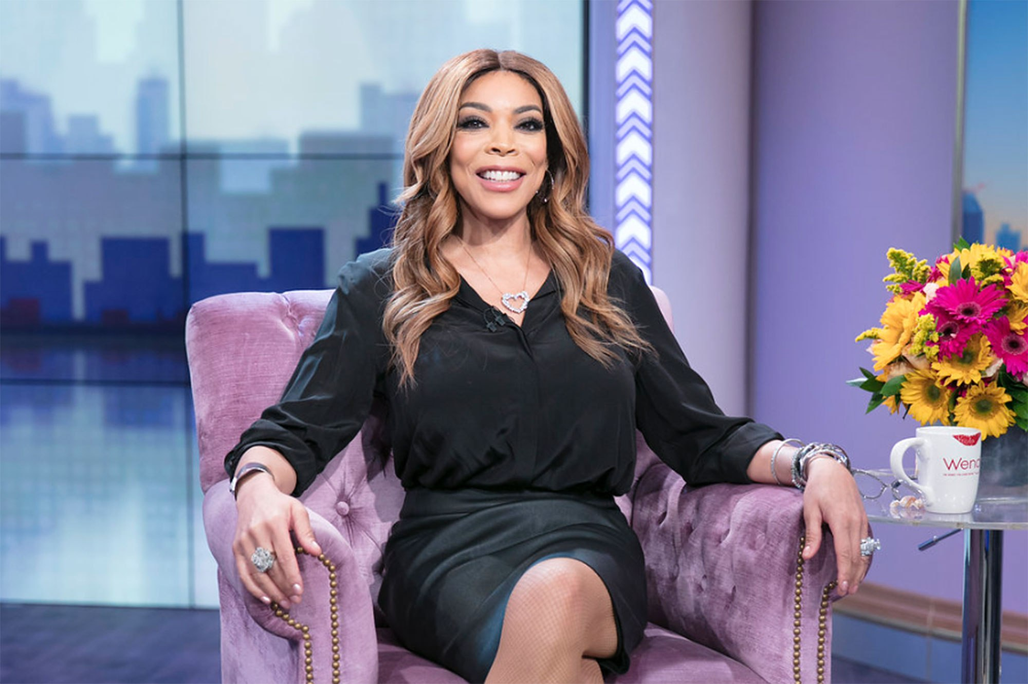 'Nobody knew': Wendy Williams says she's been living in sober house