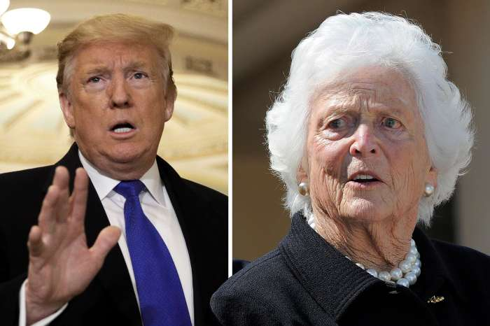 Barbara Bush Was No Longer A Republican Because Of Donald Trump - Blames Her Heart Attack On Him In New Biography!