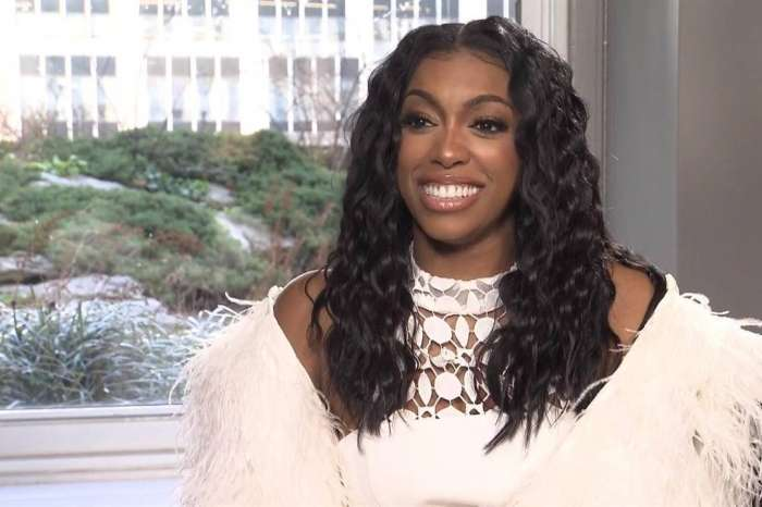 Porsha Williams' Fiance Dennis McKinley Films Her Baby Bump On His 'Daddy Cam' - She Gushes Over The Gifts For Baby PJ - Check Out The Pics