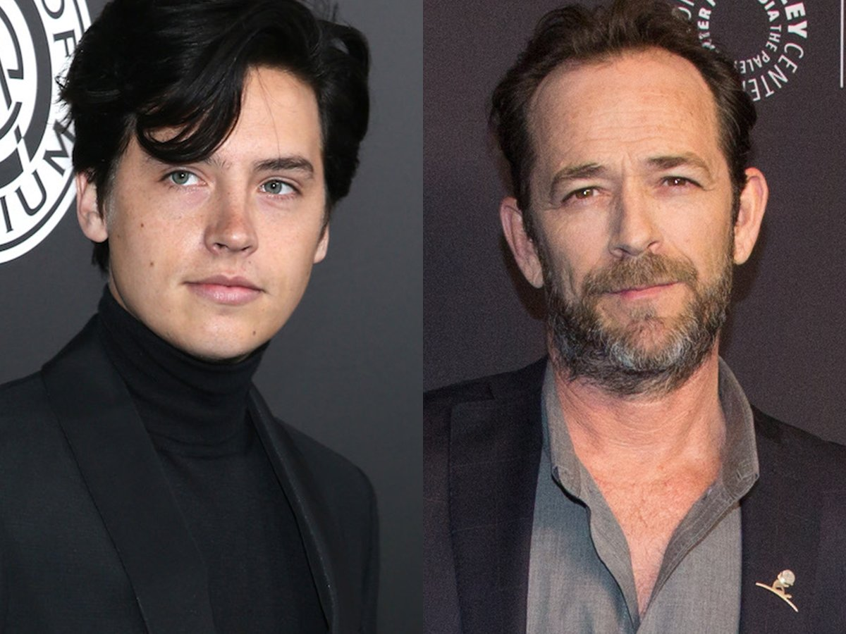 cole sprouse luke perry