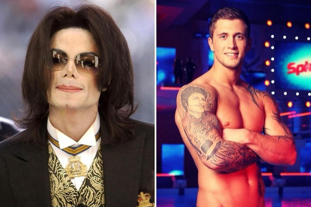 """dan-osborne-removes-massive-michael-jackson-tattoo-as-leaving-neverland-accusers-wade-robson-and-jimmy-safechuck-talk-abuse-allegations"""