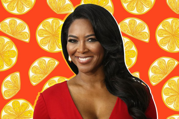 Kenya Moore Puts Her Assets On Display And Tells Fans That Her Excess Pounds Keep Dropping And The Definition Of Her Curves Is Back - Here's Her Secret