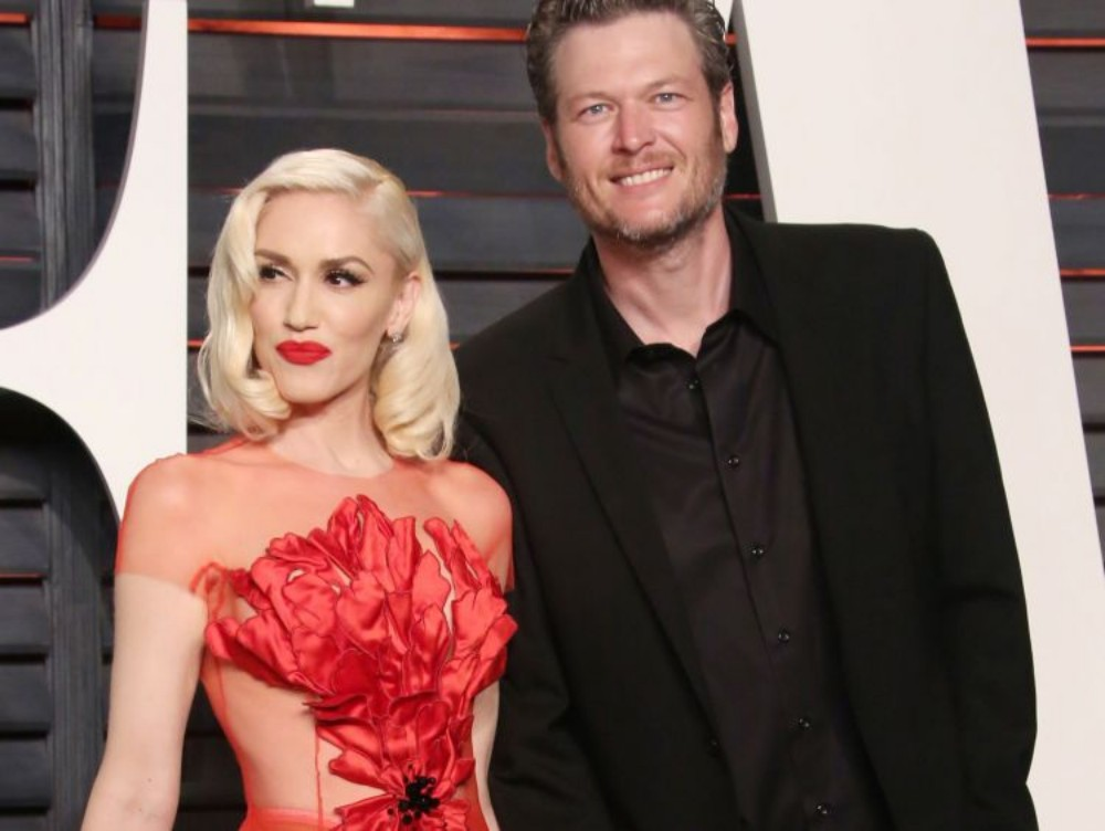 Gwen Stefani and Blake Shelton