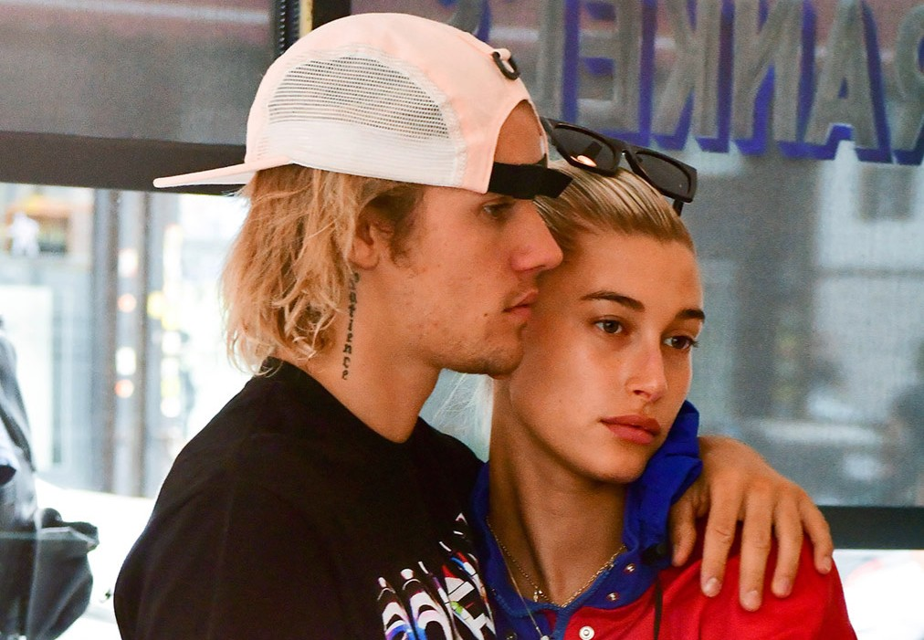 Justin Bieber and Hailey Baldwin Play April Fools Day Prank