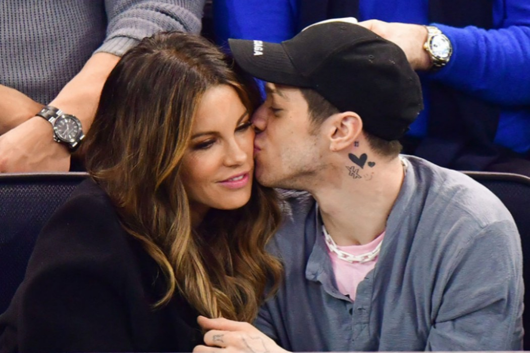 Kate Beckinsale and Pete Davidson Spotted kissing